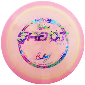 Hyzerbomb Limited Edition Signature Bradley Williams Frontline Sabot Distance Driver Golf Disc