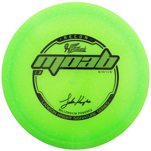 Hyzerbomb Limited Edition Signature Landon Knight Flat Top Metal Flake Recon MOAB Fairway Driver Golf Disc