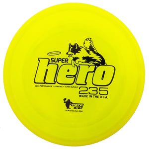 Hero Disc Super Hero K9 Sports & Dog Disc