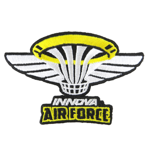 Innova Air Force Iron-On Disc Golf Patch