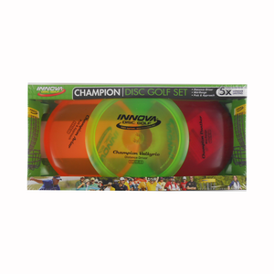 Innova 3-Disc Champion Beginner Disc Golf Set