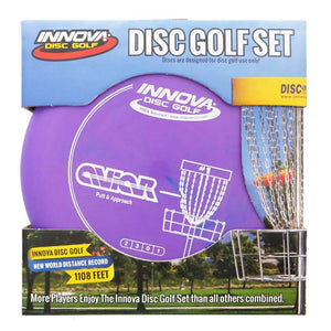 Innova 3-Disc DX Beginner Disc Golf Set StackPack