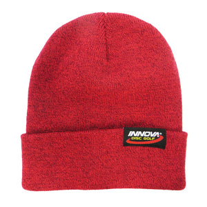 Innova Logo Heather Knit Beanie Winter Disc Golf Hat