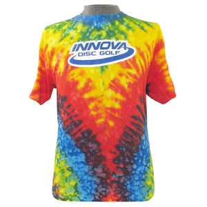 Innova Tie-Dye Logo Short Sleeve Disc Golf T-Shirt