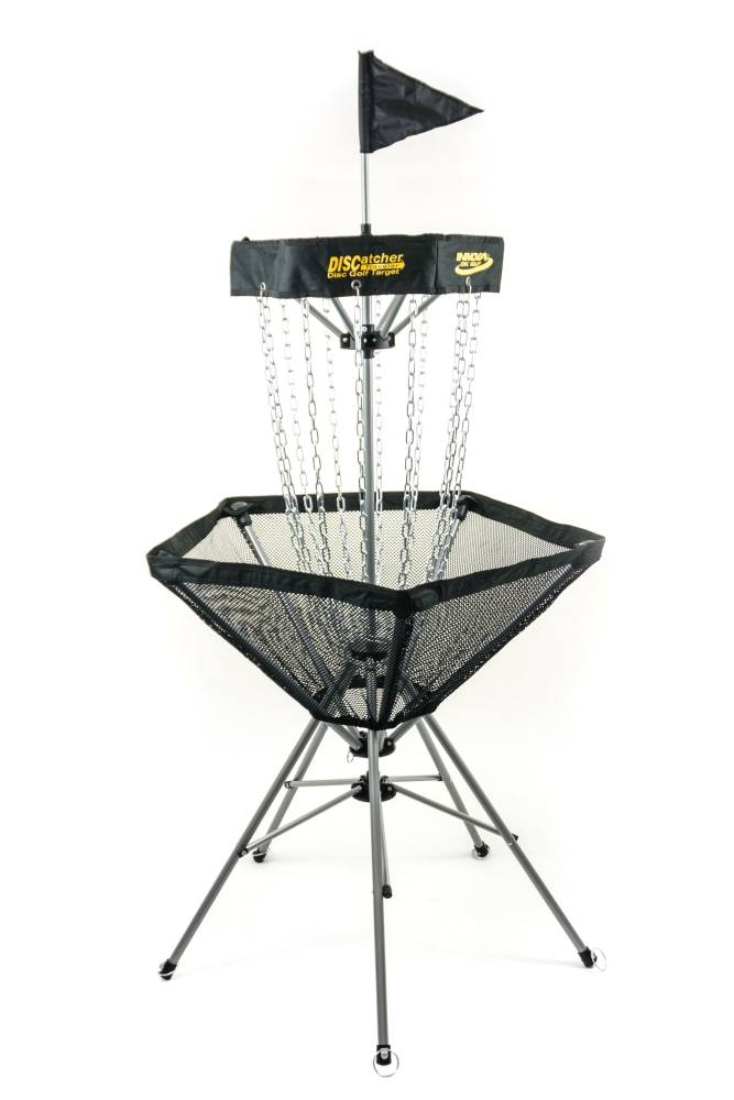 Innova DISCatcher Traveler 12-Chain Portable Disc Golf Basket