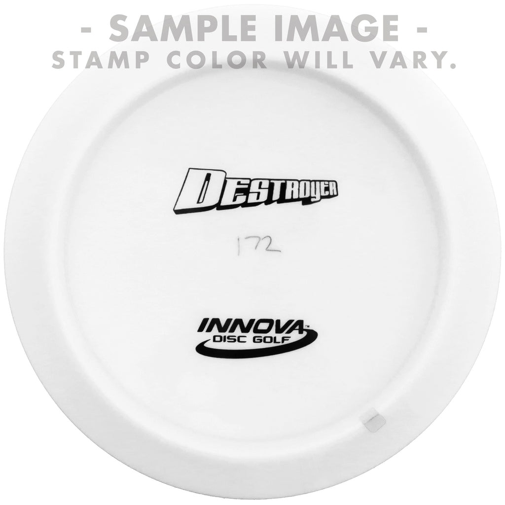Innova White Bottom Stamp Star Destroyer Distance Driver Golf Disc