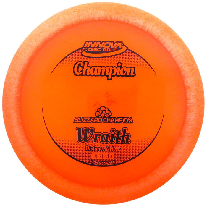 Innova Blizzard Champion Wraith Distance Driver Golf Disc