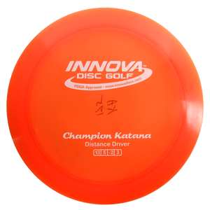 Innova Champion Katana Distance Driver Golf Disc