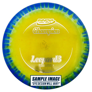 Innova I-Dye Champion Leopard3 Fairway Driver Golf Disc