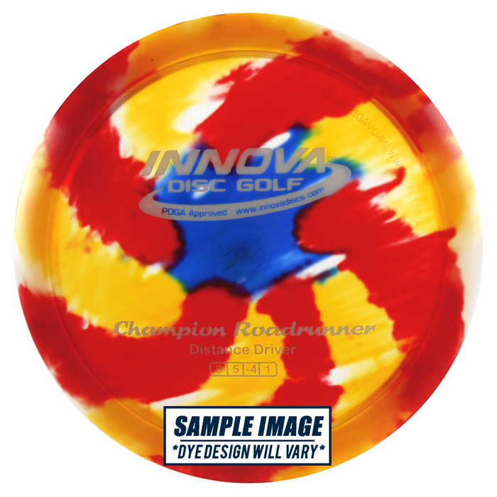 Innova I-Dye Champion Roadrunner Distance Driver Golf Disc