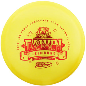 Innova Limited Edition 2019 Tour Series Calvin Heimburg Luster Champion Champion Roc3 Midrange Golf Disc