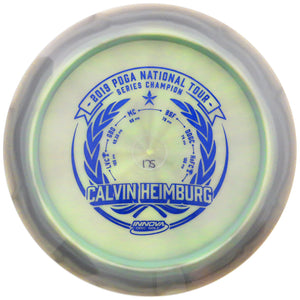 Innova Limited Edition 2019 Tour Series Calvin Heimburg National Tour Commemorative Bottom Stamp Swirl Star Destroyer Distance Driver Golf Disc