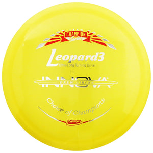 Innova Limited Edition 2019 Tour Series Drew Gibson Luster Champion Leopard3 Fairway Driver Golf Disc
