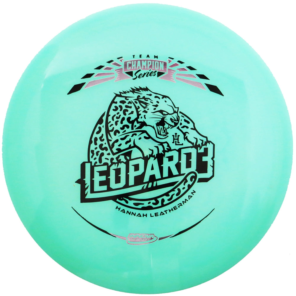 Innova Limited Edition 2019 Tour Series Hannah Leatherman Color Glow Champion Leopard3 Fairway Driver Golf Disc