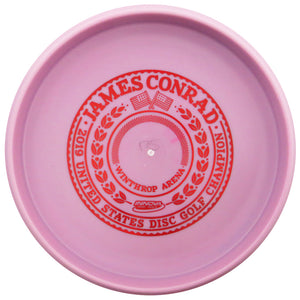 Innova Limited Edition 2019 Tour Series James Conrad USDCG Commemorative Bottom Stamp Color Glow Pro Aviar Driver Putter Golf Disc