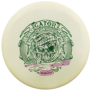Innova Limited Edition 2020 Tour Series Scott Withers Glow Champion Gator Midrange Golf Disc