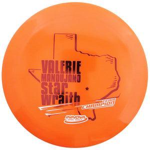 Innova Limited Edition 2020 Tour Series Valerie Mandujano Star Wraith Distance Driver Golf Disc