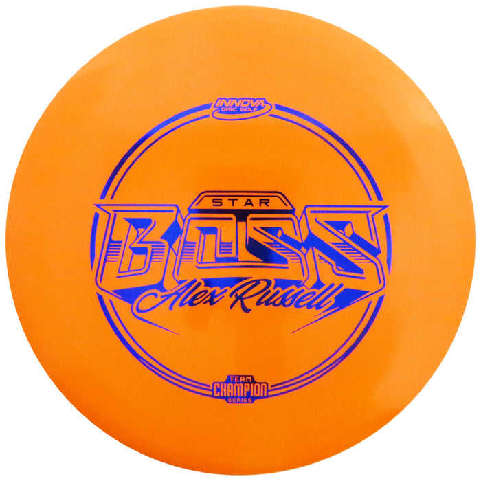Innova Limited Edition 2021 Tour Series Alex Russell Star Boss Distance Driver Golf Disc