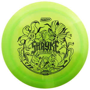 Innova Limited Edition 2021 Tour Series Jessica Weese Luster Champion Shryke Distance Driver Golf Disc