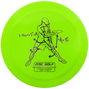 Innova Limited Edition Disc Golf Review Flat Top Champion Firebird Distance Driver Golf Disc
