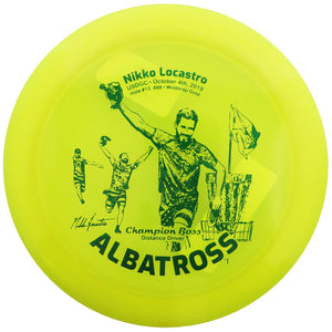 Innova Limited Edition Nikko Locastro Albatross Champion Boss Distance Driver Golf Disc