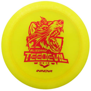 Innova Limited Edition Special Release Blizzard Champion TeeDevil Distance Driver Golf Disc