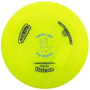"Innova Limited Edition Special Release ""Throw Long and Prosper"" Blizzard Champion Vulcan Distance Driver Golf Disc"