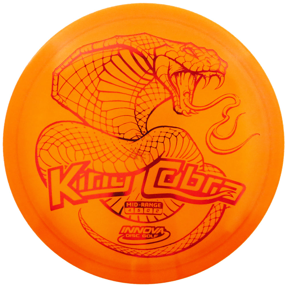 Innova Limited Edition Special Release XXL Stamp Champion King Cobra Midrange Golf Disc