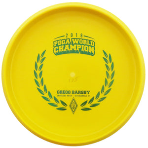 Innova Limited Edition Tour Series Gregg Barsby 2018 PDGA World Champion Commemorative KC Pro Aviar Putter Golf Disc