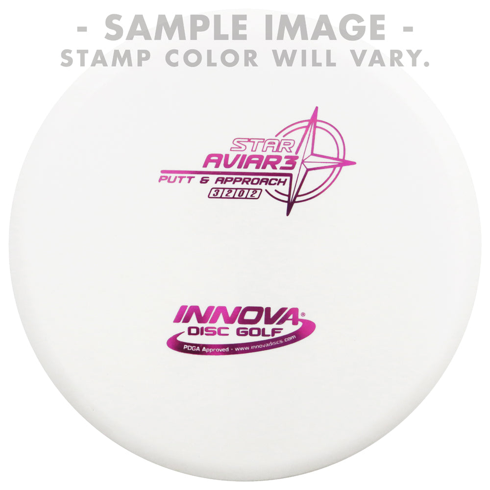 Innova White Star Aviar3 Putter Golf Disc