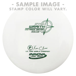 Innova White Star Wraith Distance Driver Golf Disc