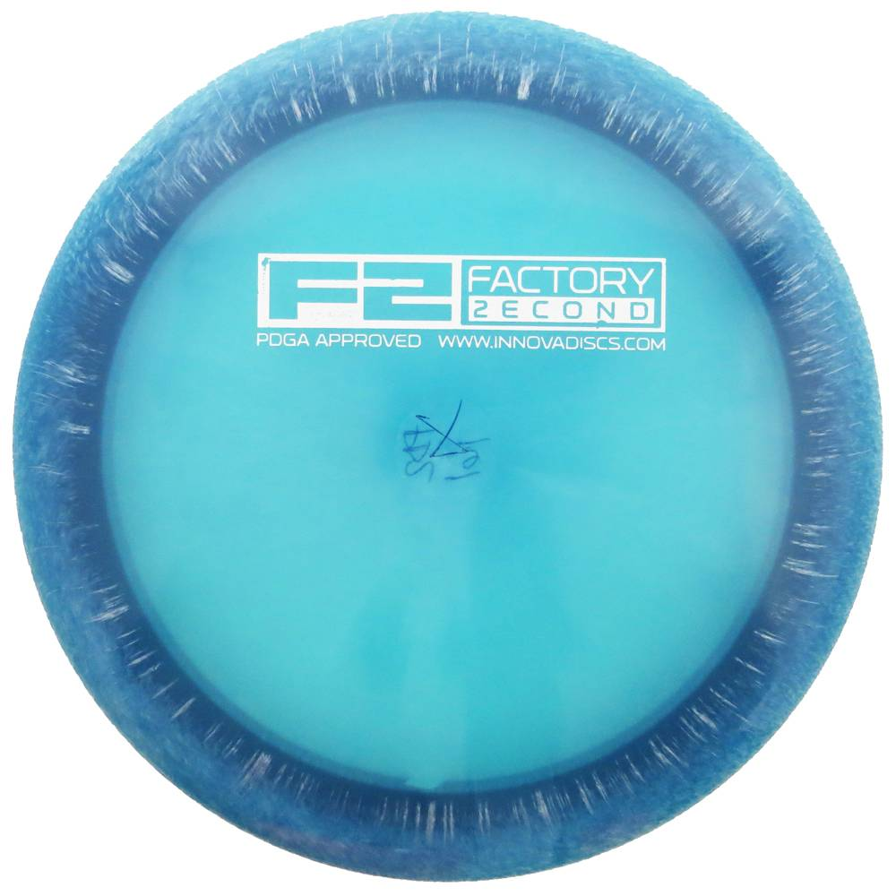 Innova Factory Second Blizzard Champion Vulcan Distance Driver Golf Disc