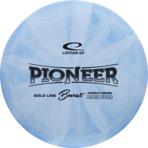 Latitude 64 Gold Burst Pioneer Fairway Driver Golf Disc