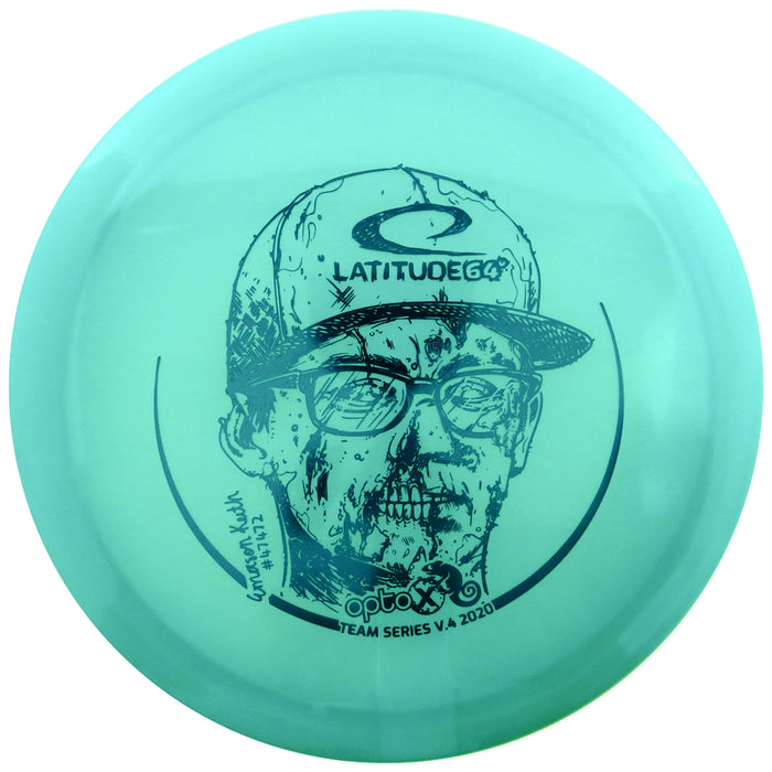 Latitude 64 Limited Edition 2020 Team Series Emerson Keith Moonshine Glow Chameleon Opto-X Explorer Fairway Driver Golf Disc