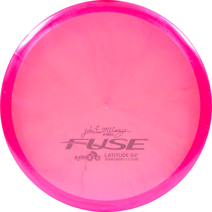Latitude 64 Limited Edition 2020 Team Series JohnE McCray Chameleon Opto-X Fuse Midrange Golf Disc