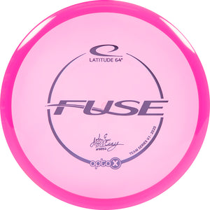 Latitude 64 Limited Edition 2020 Team Series JohnE McCray Opto-X Fuse Midrange Golf Disc