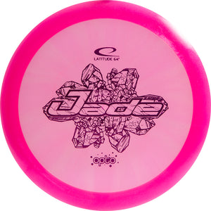 Latitude 64 Limited Edition Glimmer Opto Jade Fairway Driver Golf Disc