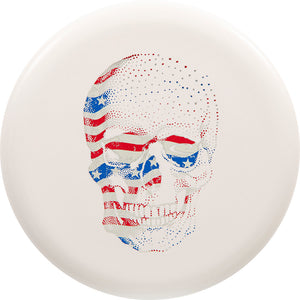 Latitude 64 Limited Edition Happy Skull Zero Line Medium Pure Putter Golf Disc