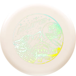 Latitude 64 Limited Edition Kristin Tattar Moonshine Glow Zero Medium Pure Putter Golf Disc