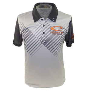 Latitude 64 Accent Sublimated Short Sleeve Performance Disc Golf Polo Shirt
