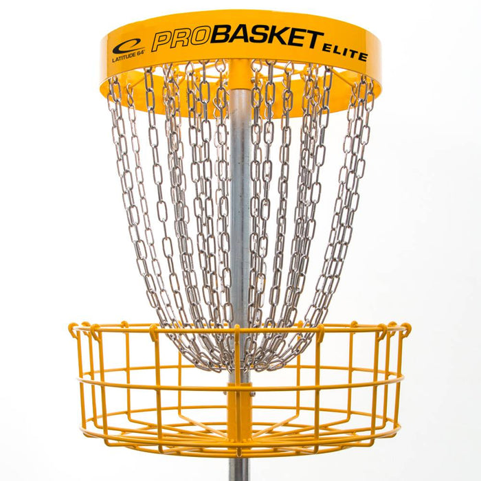 Latitude 64 ProBasket Elite 28-Chain Disc Golf Basket
