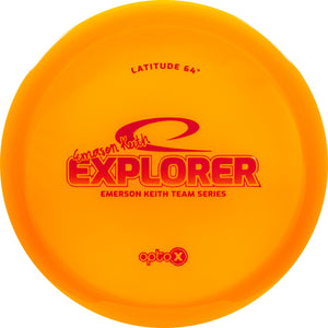 Latitude 64 Limited Edition 2019 Team Series Emerson Keith Opto-X Explorer Fairway Driver Golf Disc