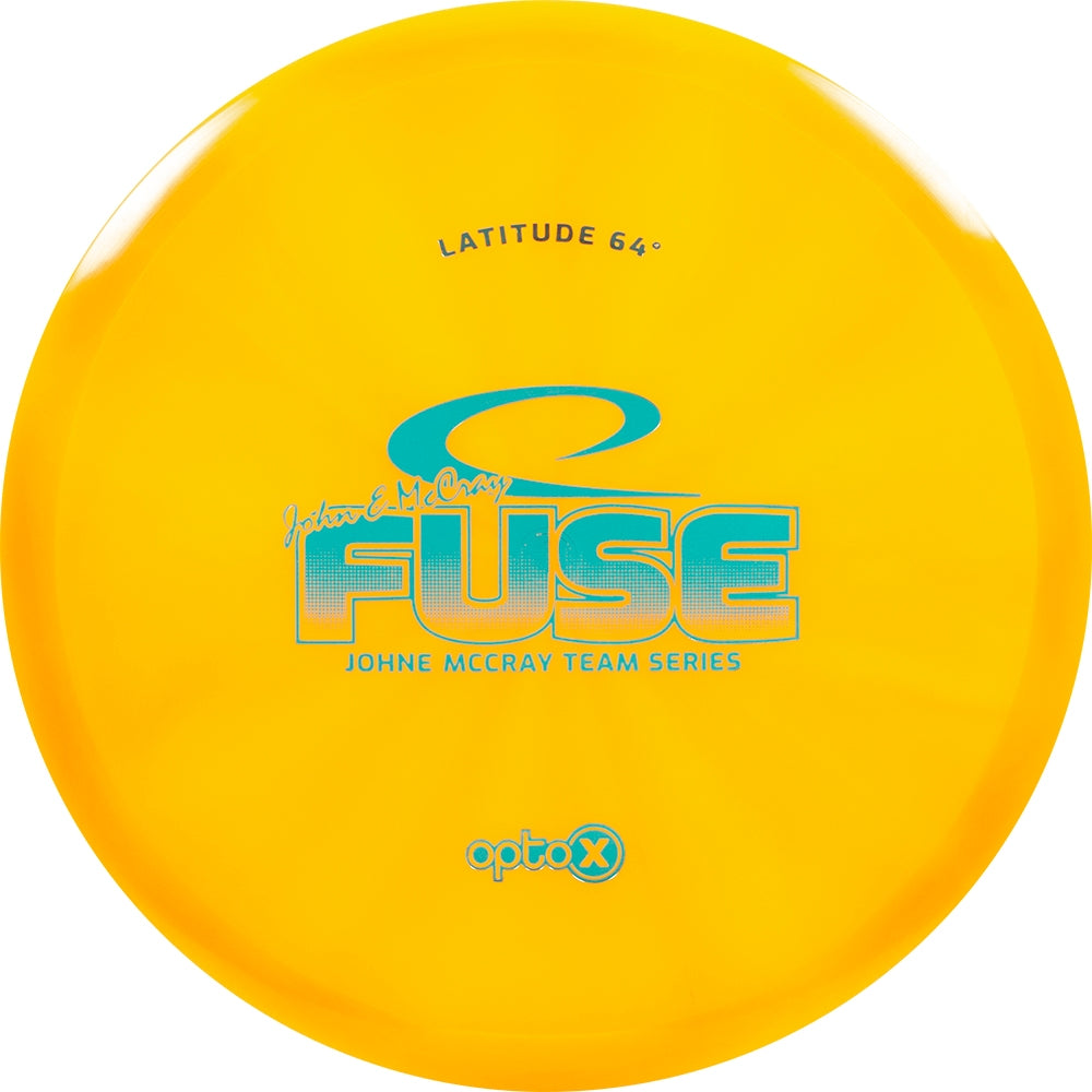 Latitude 64 Limited Edition 2019 Team Series John E McCray Opto-X Fuse Midrange Golf Disc