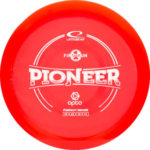 Latitude 64 First Run Opto Line Pioneer Fairway Driver Golf Disc