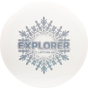 Latitude 64 Limited Edition Snow Line Explorer Fairway Driver Golf Disc
