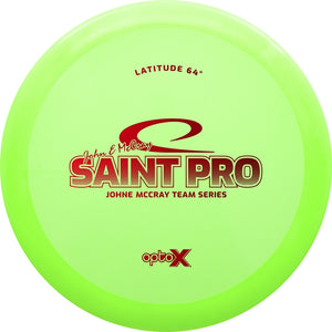 Latitude 64 Limited Edition Team Series John E McCray Opto-X Saint Pro Fairway Driver Golf Disc
