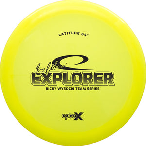 Latitude 64 Limited Edition Team Series Ricky Wysocki Opto-X Explorer Fairway Driver Golf Disc