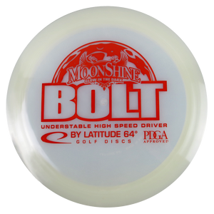 Latitude 64 Moonshine Glow Opto Bolt Distance Driver Golf Disc
