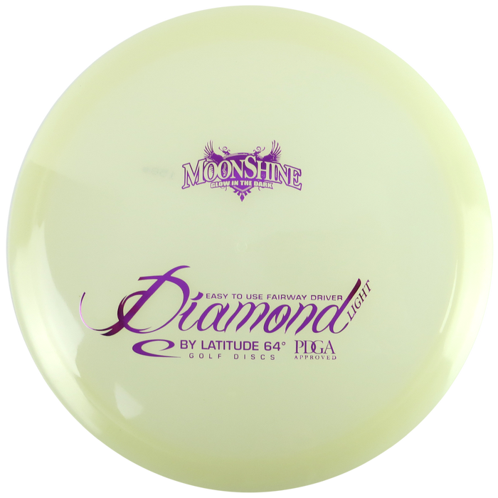 Latitude 64 Moonshine Glow Opto Diamond Fairway Driver Golf Disc