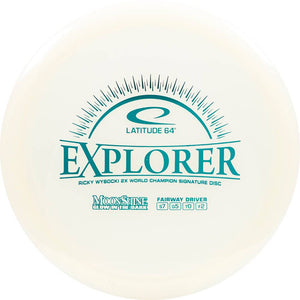 Latitude 64 Moonshine Glow Opto Explorer Fairway Driver Golf Disc